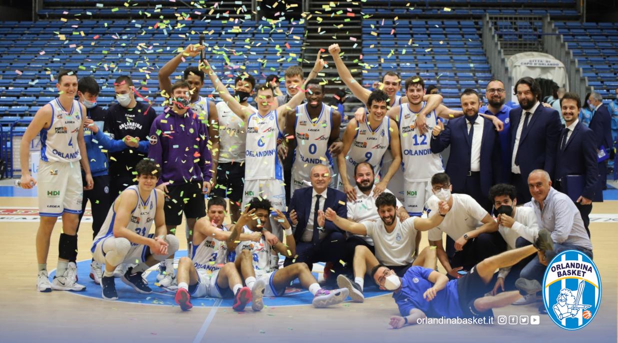Serie A2, Girone Blu – L'Orlandina Basket raggiunge la matematica salvezza, battuta Rieti 90-69
