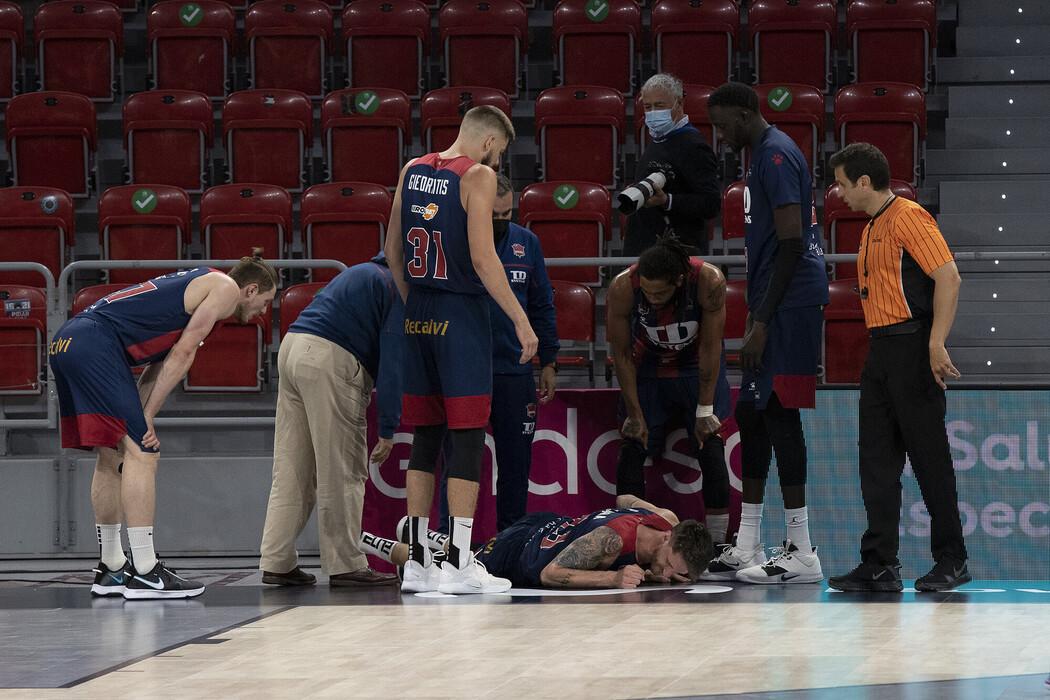 #ItalyInEurope: Brutto infortunio alla caviglia per Achille Polonara, il Baskonia perde