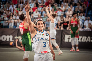 Rae Lin D'Alie Italia 3×3
