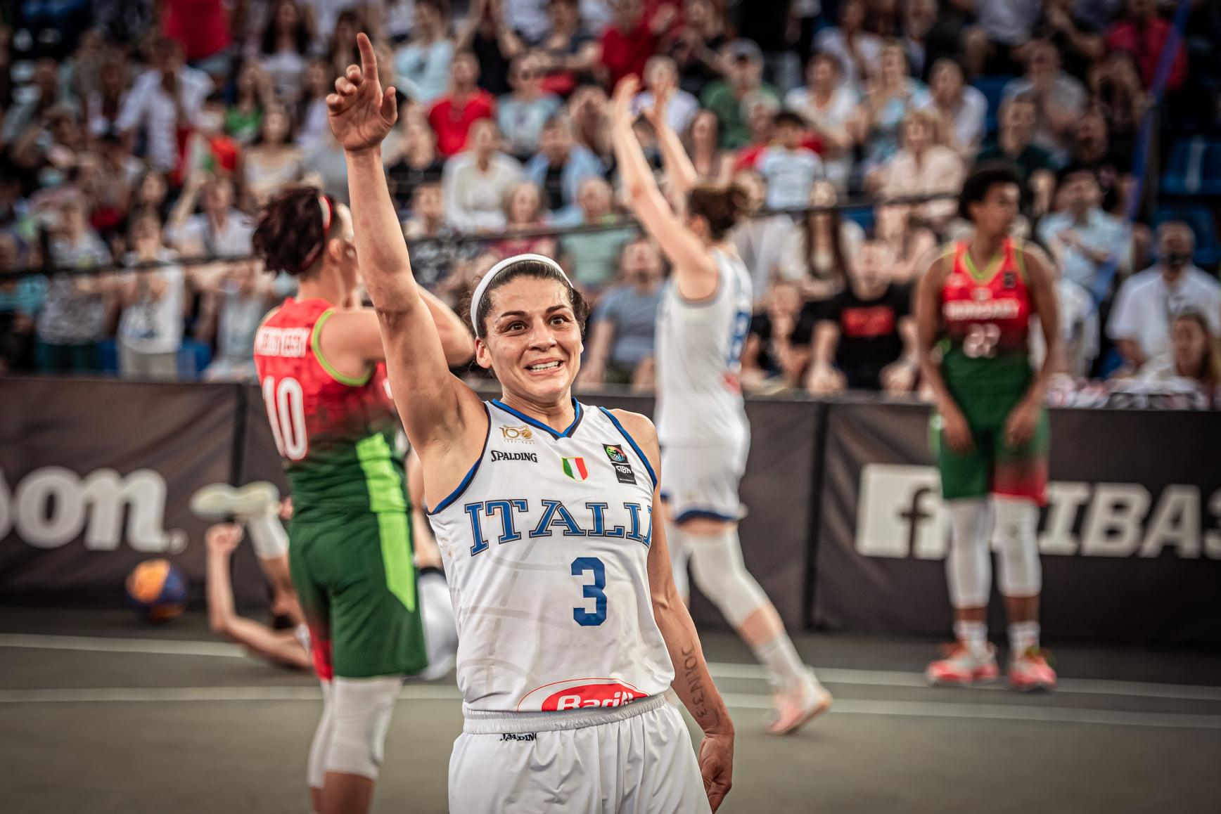 3×3 femminile: l'Italia batte l'Ungheria 13-12 e va alle Olimpiadi di Tokyo 2021!!!