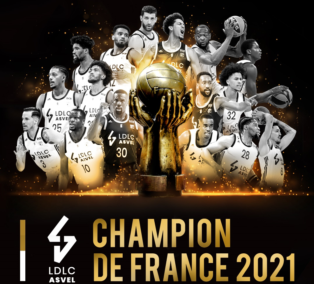 ASVEL campione di Francia, battuto il Dijon in finale
