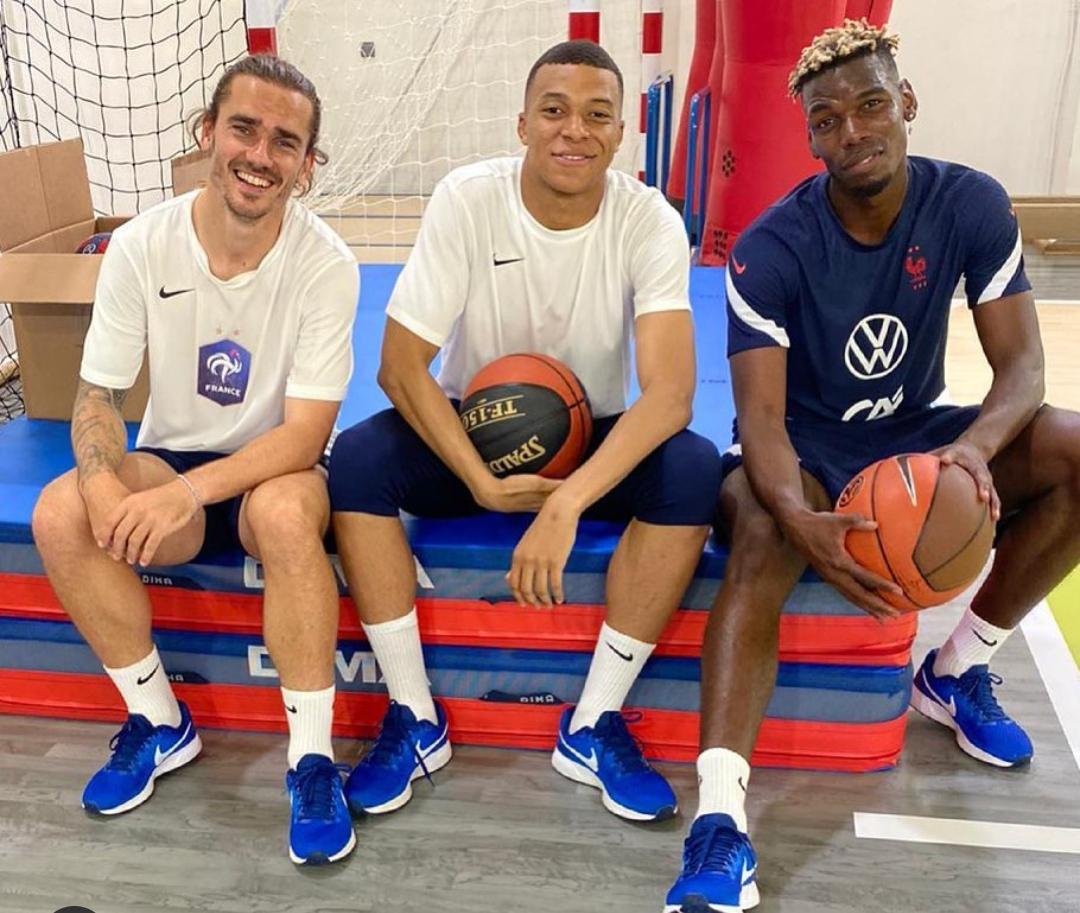 """Paul Pogba """"sfida"""" i giganti della NBA- Pronto per i playoff"""""""