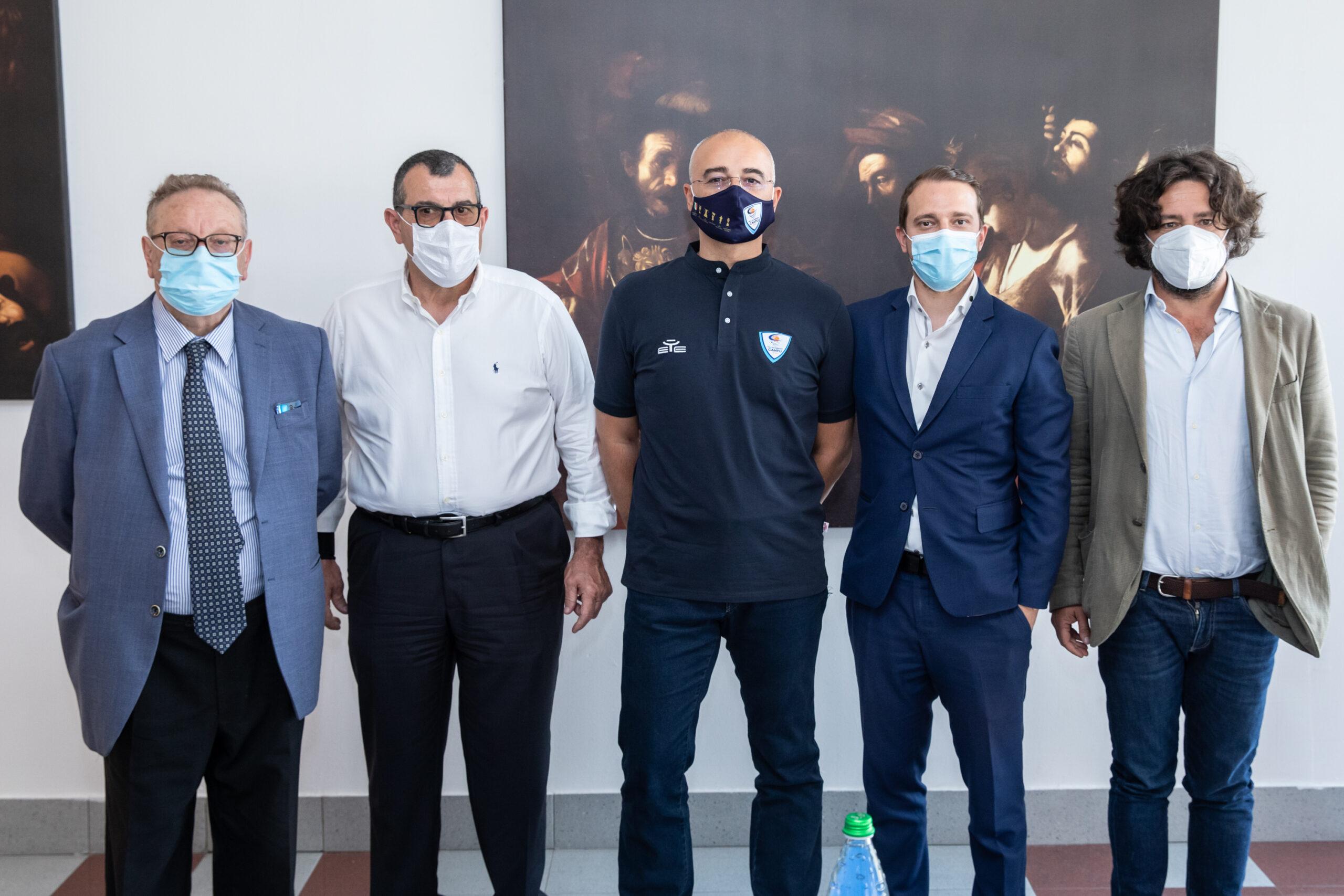 """Cantù- Sodini si presenta ai tifosi: """"I gicatori dovranno buttarsi nella fiamma della Giubiana se necessario"""""""