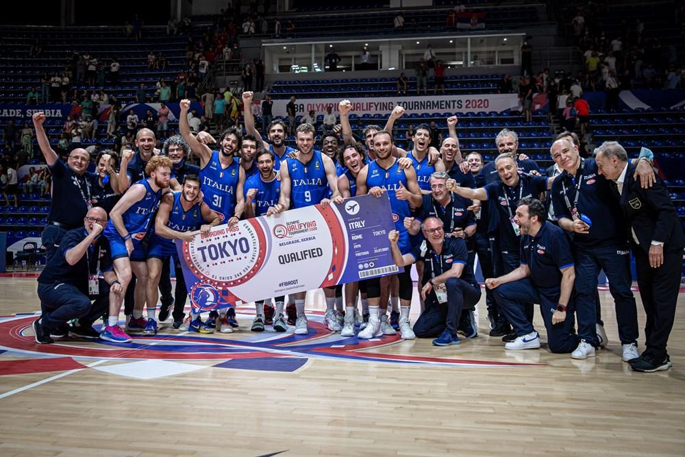 Serbia battuta a Belgrado, un'Italia GIGANTE vince 95-102 e vola alle Olimpiadi di Tokyo!!!