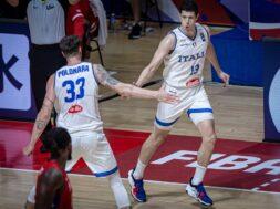 Achille Polonara e Simone Fontecchio, ItalBasket Italia Nazionale