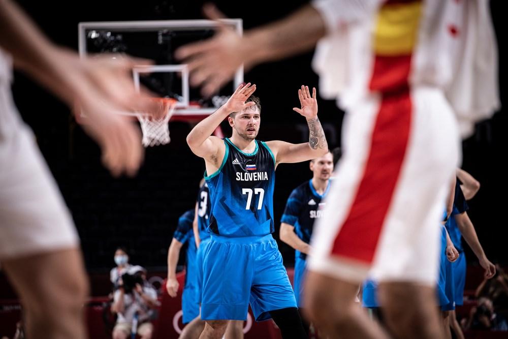 #Tokyo2020: La Slovenia batte anche la Spagna, Luka Doncic vicino alla tripla doppia