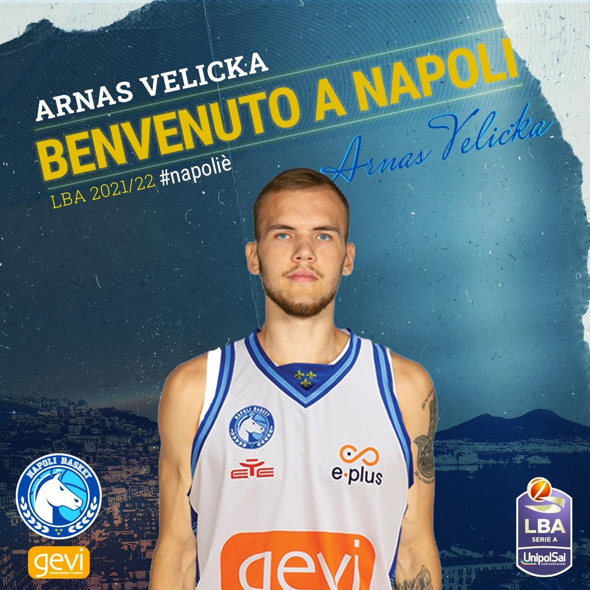 #LBA – La GeVi Napoli piazza l'ultimo colpo: arriva il play lituano Arnas Velicka