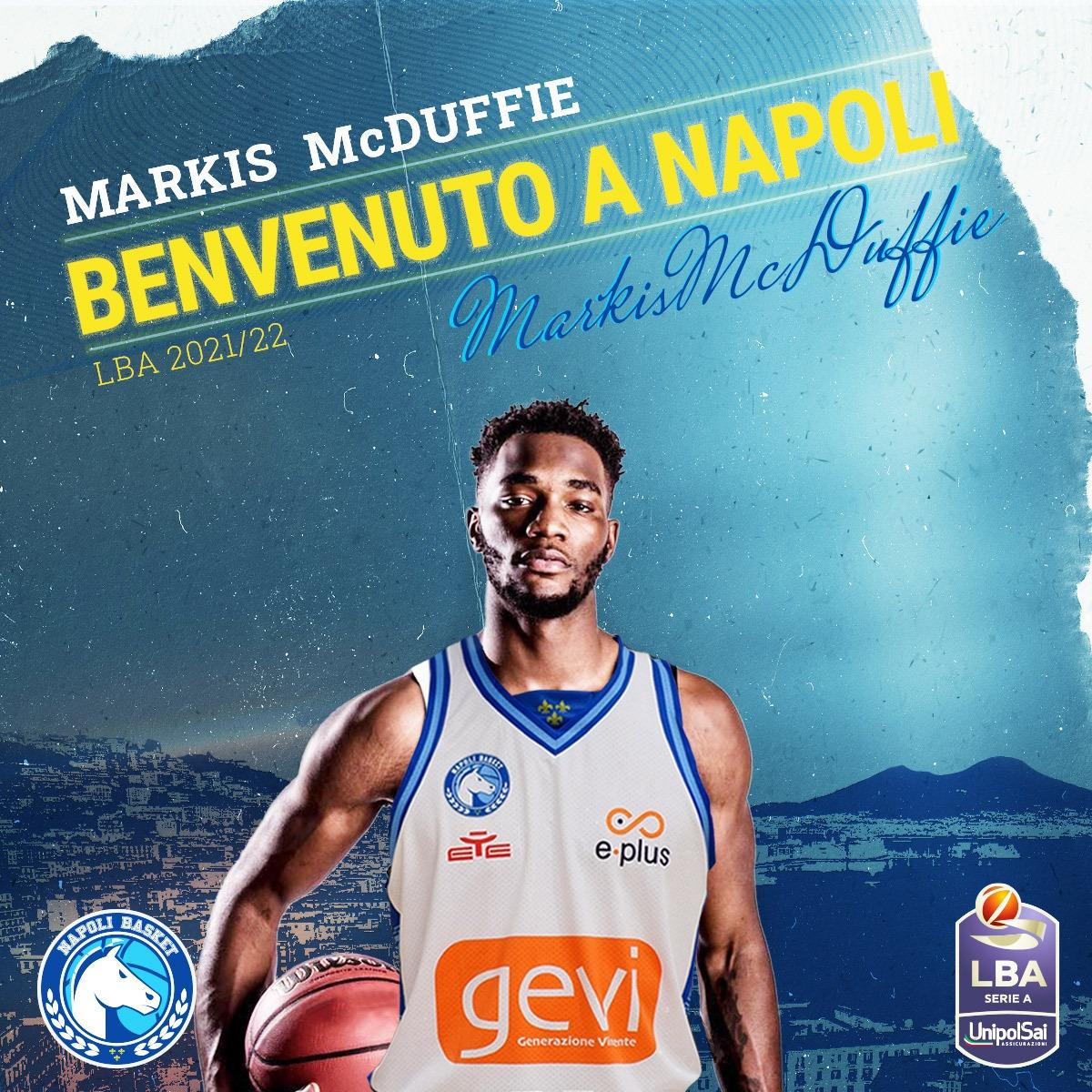 #LBA- GeVi Napoli, ingaggiato Markis McDuffie