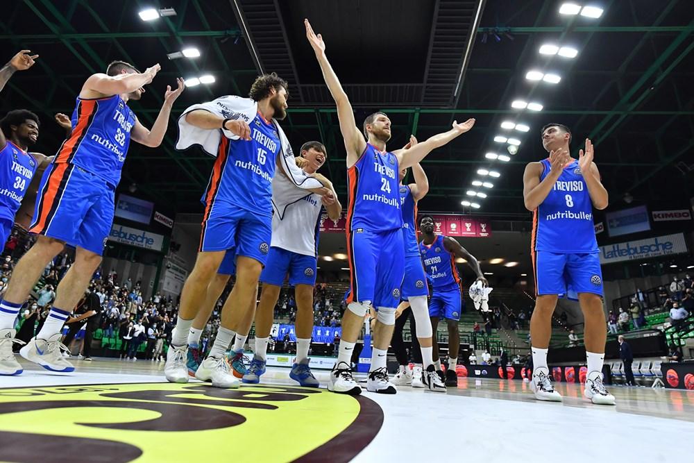 #BCL – Prima giornata: vince solo Treviso; bene le spagnole